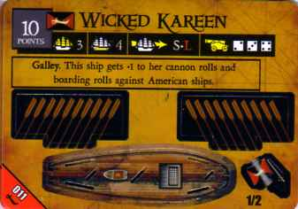 BC-011 Wicked Kareen