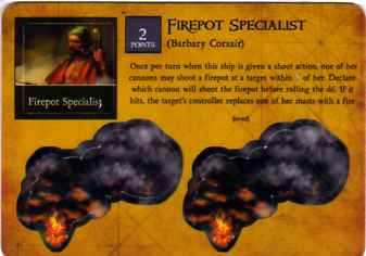 BC-047 Barbary Corsair Firepot Specialist
