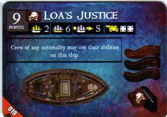 DJC-019 Loa's Justice