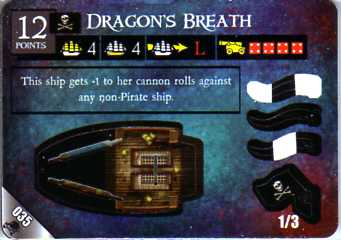 DJC-035 Dragon's Breath