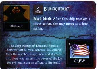 DJC-045 Blackheart/George Washington Lebeaux