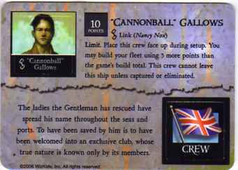 "MI-042 ""Cannonball"" Gallows/The Gentleman"