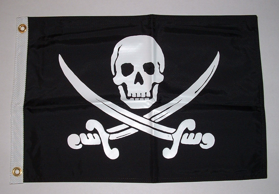 """Calico Jack"" Rackham Pirate Flag"