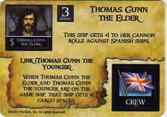 SM-EC-004 Thomas Gunn the Elder/English Shipwright