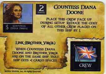 SM-EC-006 Countess Diana Doone/English Explorer