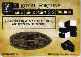 SM-PS-023 Royal Fortune