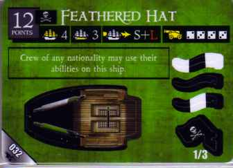 SCS-032 Feathered Hat