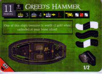 SCS-037 Greed's Hammer