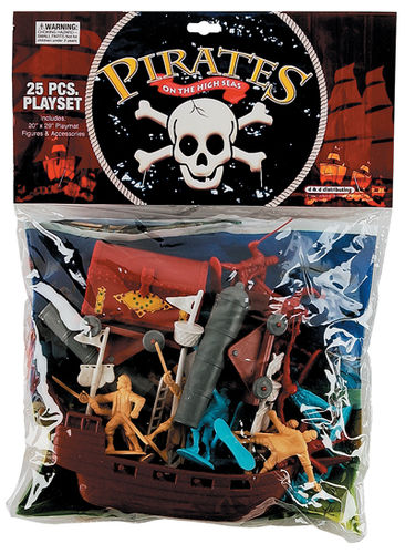 Pirate Playset - 25 Pieces