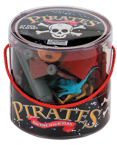 Pirate Playset - 37 Pieces