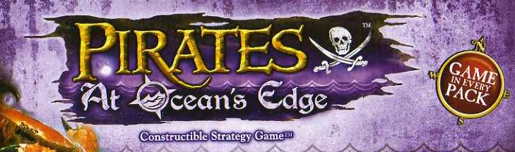 GCC carte singole PIRATES AT OCEAN'S EDGE 007 GUINEE