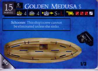 R-003 Golden Medusa