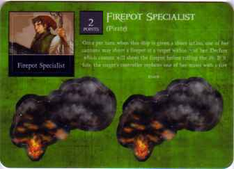 SCS-044 Pirate Firepot Specialist