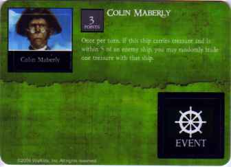 SCS-058 Colin Maberly/Favor of the Gods